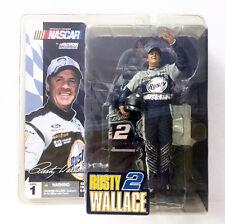 MCFARLANE NASCAR SERIES 1 RUSTY WALLACE #2 ELVIS PRESLEY FIGURE ~BRAND NEW~