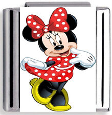 Disney Minnie Mouse Italian Charm Nomination Birthday, Christmas UK Seller