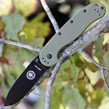 Couteau ESEE Avispa Black D2 Lame Acier D2 Manche FRN OD Green Frame BRK1302ODB