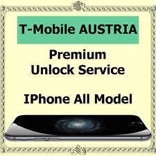 Austria T-mobile PREMIUM Factory Unlock Service iPhone 5c 5s 6 6+ 6s 6s+ SE 7 7+