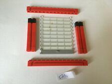 LEGO 1 x Rolltor transparent blau grau rot Garage Town City Platten rot