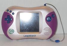 Leapfrog Leapster 2 Handheld Game System Rare VHTF Educational Pink