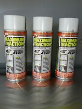 Traction Spray (3) 8oz. Maximum Traction Anti Slip Coating sprays Clear 3 cans.