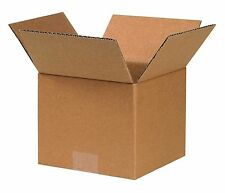25 Pack 7x7x6 Corrugated Carton Cardboard Packaging Shipping Mailing Box Boxes