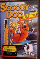 Scooby Doo (Elite, 1986) casete c64 (tape, box, manual) 100% ok