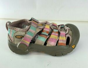 Keen Newport H2 Multi Color Canvas Toddler  Fisherman Sandal US Sz 8 EU 25 CM 15
