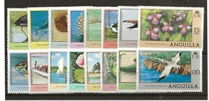 Anguilla 1977 Defin Set Complete m/m SG 274/89 c£33