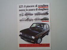 advertising Pubblicità 1979 FIAT 127 SPORT
