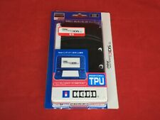 HORI Semi Hard TPU Cover for Nintendo New 3DS LL Clear Black from Japan