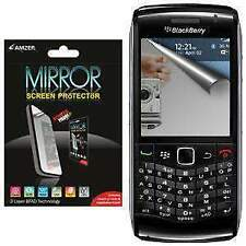 AMZER Mirror Screen Protector with Cleaning Cloth For Blackberry Pearl 9105/9100