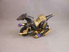 Rare Diecast Motorcycle Black Gold Raptor Dino MMPR Power Rangers Bandai Vtg BVS