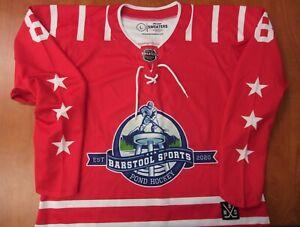 League Sweaters Barstool Sports Pond Hockey Est 2020 Performance Jersey L ~NEW~