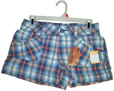 NOBO No Boundries - Plaid Girls Junior Short - Size 3 by Walmart (New with Tag)