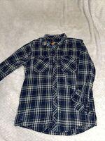 Men's Empyre Surplus Co. Green Plaid Long Sleeve Shirt (Size L)
