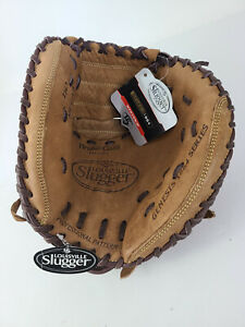 "31"" RHT NWT Louisville Slugger CM1 GN14-BN Youth Catchers Mitt Glove"