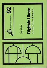 Digitale Uhren, Topp Buchreihe Elektronik Band 92