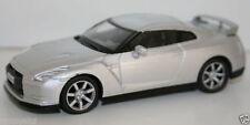 1/43 SCALE DIECAST METAL MODEL - NISSAN GT R 2008 - SILVER