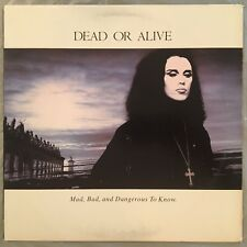 DEAD OR ALIVE - Mad, Bad, And Dangerous To Know (Vinyl LP) 1986 Epic FE-40572