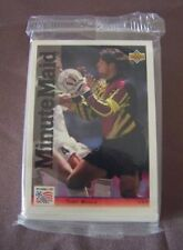 Serial Numbered Set Soccer Trading Cards