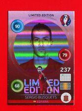 EURO FRANCE 2016 - Adrenalyn Panini Card Limited Edition Hero - BUSQUETS -ESPANA