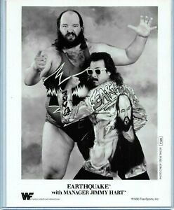 WWE EARTHQUAKE P-028 OFFICIAL LICENSED AUTHENTIC ORIGINAL 8X10 PROMO PHOTO RARE