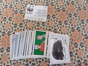 WWF NATURA DA SALVARE FIGURINE PANINI NUOVE MANCOLISTA SOLO 0,20 € A FIGURINA