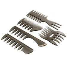 5pcs Professional Hair Styling Hairdressing Comb Wide Teeth Oil Head Hair Combs