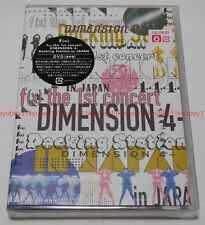 New f(x) the 1st concert DIMENSION 4 Docking Station in JAPAN 2 DVD Sumapura EMS