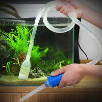 Fish Tank Filter Aquarium Gravel Cleaner Fish Tank Manual Siphon Water Changer