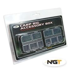 BRAND NEW NGT CARP RIG ACCESSORY KIT 100 PIECE COMPLETE WITH TACKLE BOX