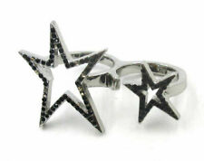 star Metal Size 6-7 Ring Jd9475 New listing Free Shipping Fashion Jewelry Five-pointed
