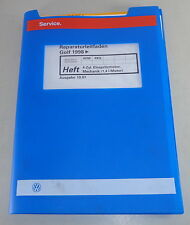 Werkstatthandbuch VW Golf IV/4 ab 1998 4 Zyl. Einspritzmotor AHW / AKQ - 10/1997