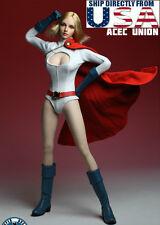 "1/6 POWER GIRL Head Sculpt Suit Set For 12"" Phicen Hot Toys Female U.S.A. SELLER"