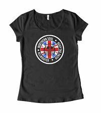 Northern Soul Night Owl Union Jack Women's T-Shirt