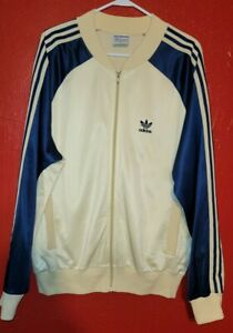 Vintage 80s Adidas ATP KEYROLAN TRACK JACKET SIZE L GREAT CONDITION