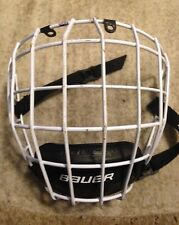 Bauer Profile Ii White Hockey Helmet Cage Size S /P Small