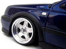 VW GOLF 3 VR6 1:18 TUNING 16 ZOLL SCHMIDT MODERN LINE ALUFELGEN OTTO