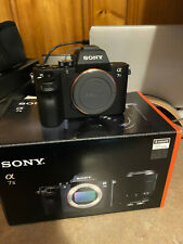 Sony Alpha A7 II 24.3MP Digital Camera - Black (Body Only) BARELY USED - *READ*