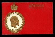 Royalty KING EDWARD VII  Tuck Coronation Series #611 Embossed u/b PPC used 1903