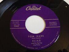 "Elias - Tom Hark / New Year Rock Capitol Records 7"" 45 RPM Vinyl"