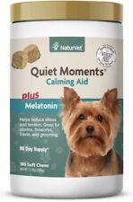 New listing Naturvet Quiet Moments Dog Calming Aid with Melatonin - 180 soft chews