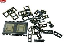 Set IC-Fassungen ca.30 Stück KEMO S057