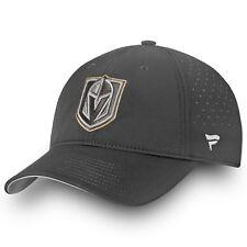 Vegas Golden Knights Authentic Pro Clutch Fundamental Adjustable Hat – Gray OSFM