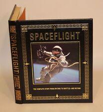 2007 Easton Press Signed Leather Book Giles Sparrow & Buzz Aldrin Spaceflight