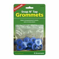 Coghlan's Snap N' Tap Grommets 8-Pack 11mm Strong Tarp Repair Kit for Camping