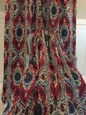 Sanderson NIYALI fabric Curtains blackout lined  can be interlined
