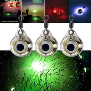 Fishing Lights Night Fluorescent Glow LED Underwater Fishing Lure Light S4C6