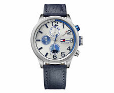 Tommy Hilfiger Silver Case Casual Wristwatches