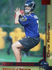 209 SR Chris Redman Baltimore Ravens Skybox 2000 Rookie