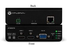 Atlona AT-HDVS-TX Dual HDMI and VGA/Audio to HDBaseT Switcher/Extender 4K
